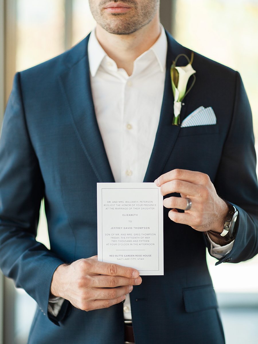 Part I Modern Minimal Wedding Inspiration
