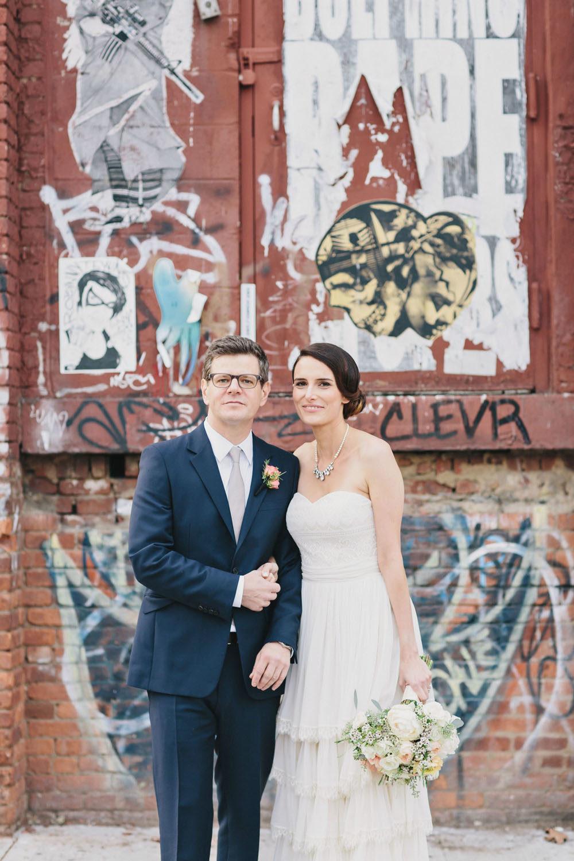 Chic Fall Brooklyn Winery Wedding