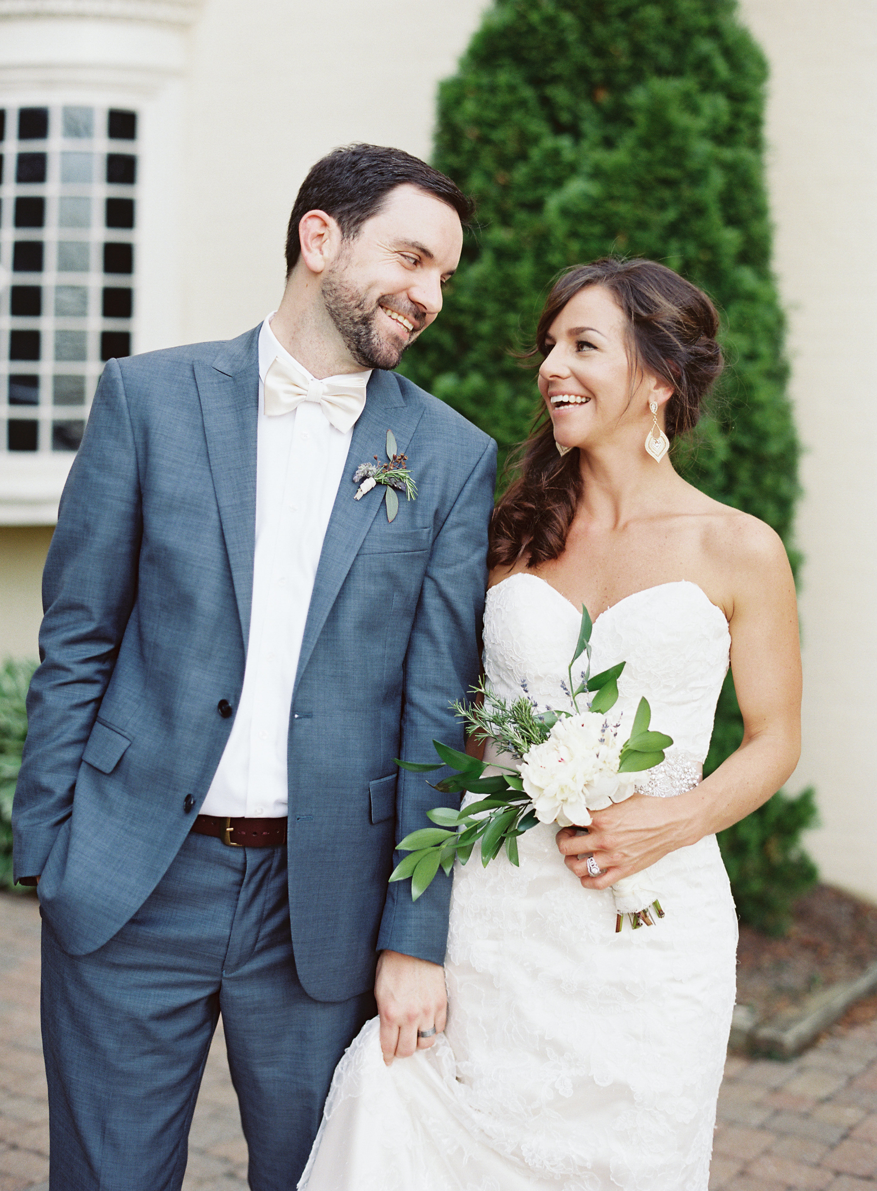 Rustic Glam Summer Wedding at Evergreen Museum + Library