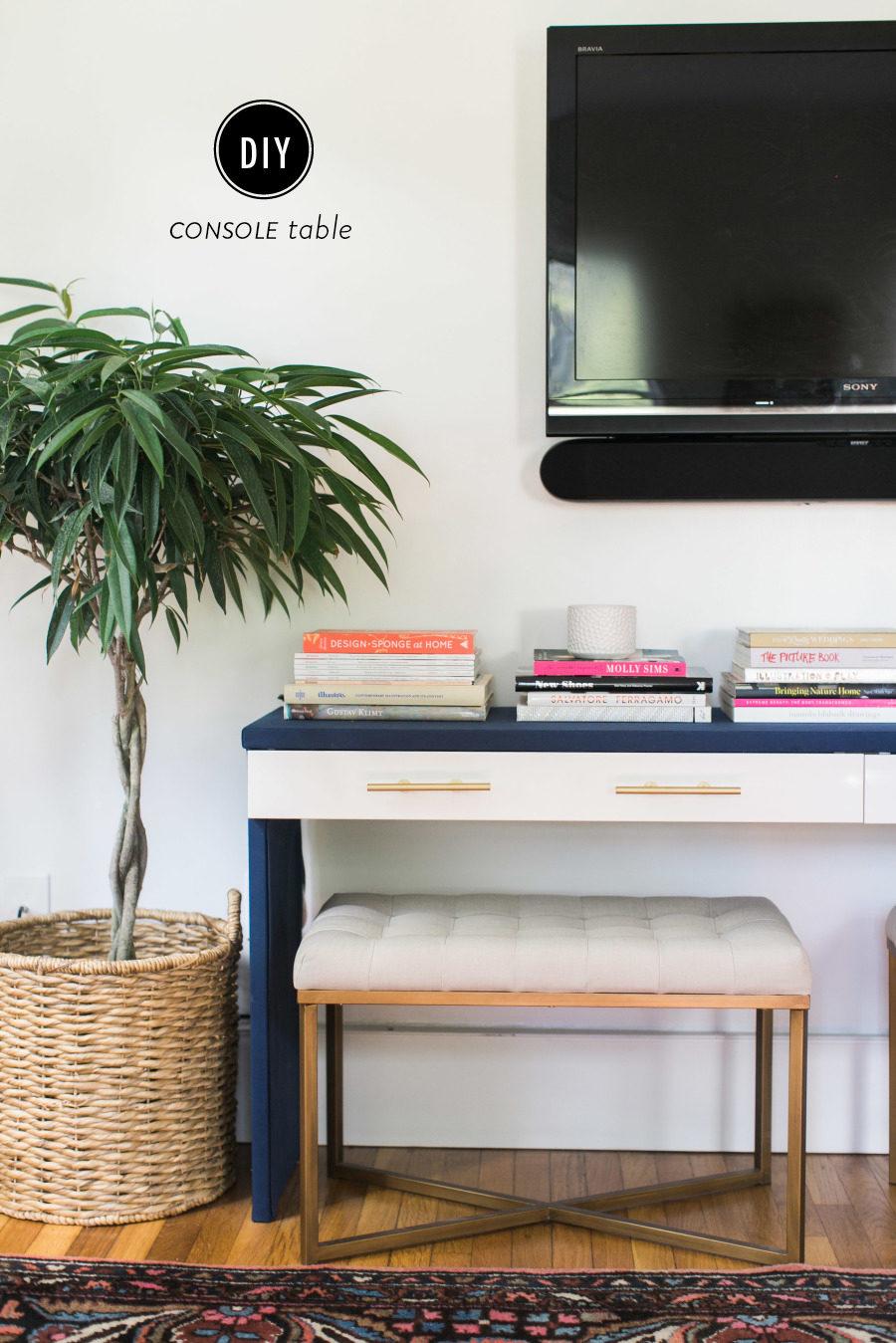 Ikea Hack Diy Console Table