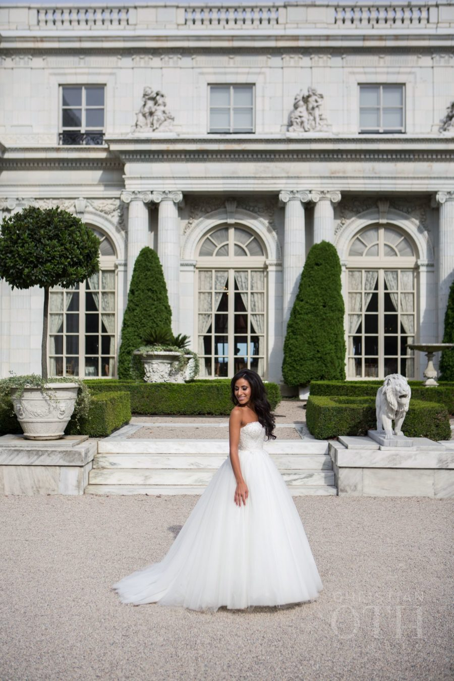 Vintage french affair wedding at rosecliff mansion