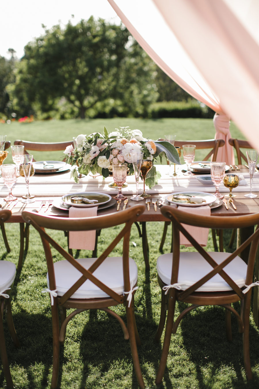 see why this california wedding is a treasure trove of pretty