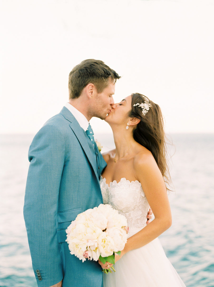 Romantic + Traditional Greek Island Wedding