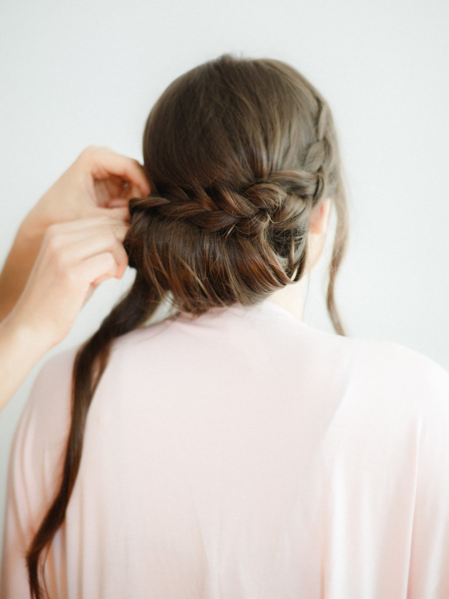 How To Create The Perfect Braided Chignon