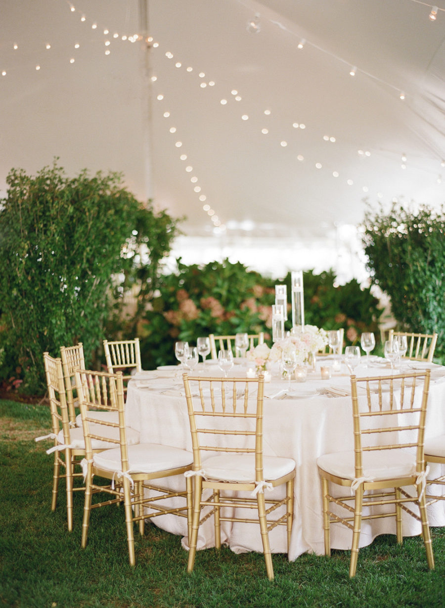 elegant romantic hamptons summer wedding