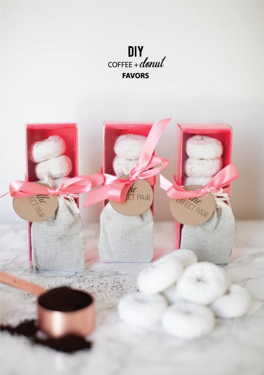 Coffee Party Favors - Coffee Drinker