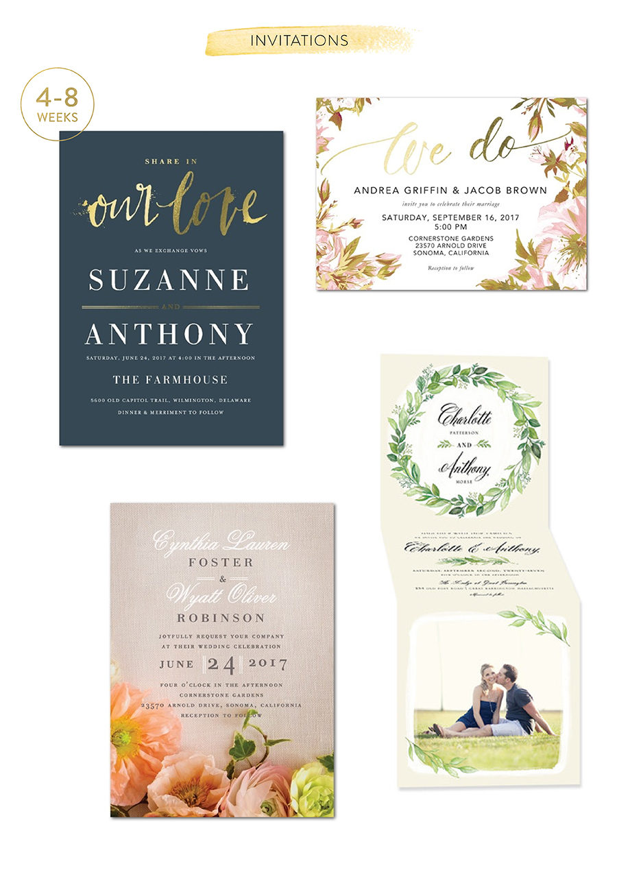 When To Send Out Wedding Invitations 94 Luxury