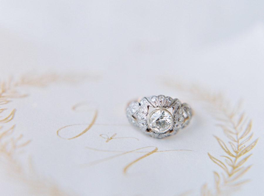 Art Nouveau Wedding Rings 66 Elegant