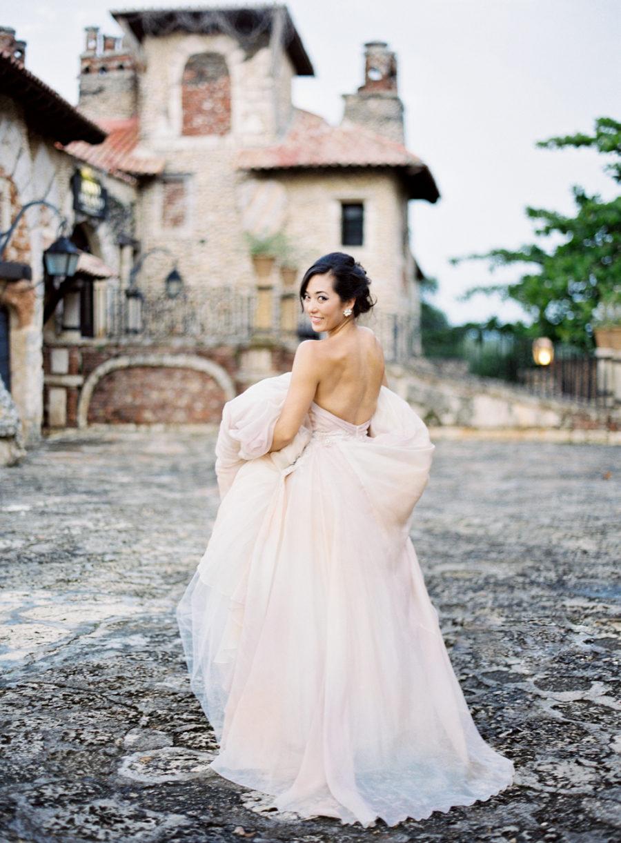 Lazaro Blush Wedding Dress 26 Beautiful