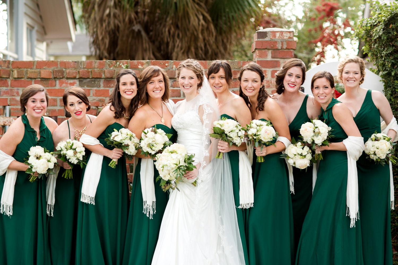 Emerald green winter wedding ombrellifo Image collections