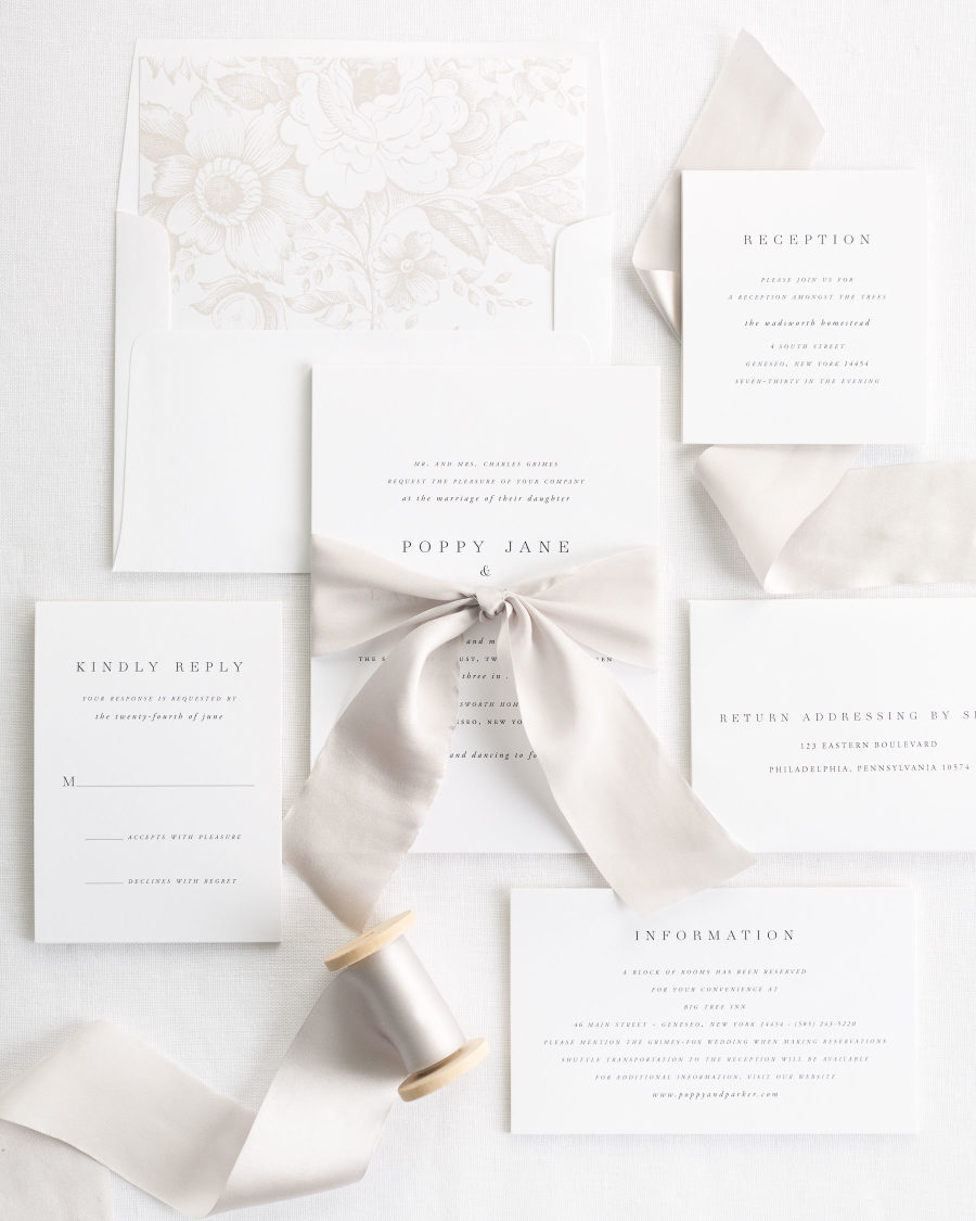Top 5 Wedding Invitation Mistakes and How to Avoid Them