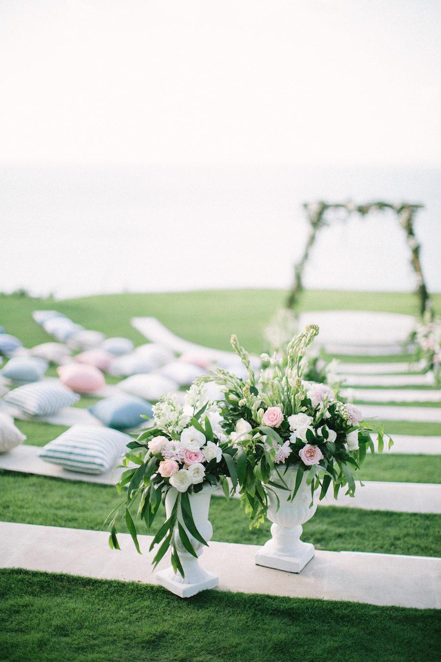 Elegant French Wedding in Bali