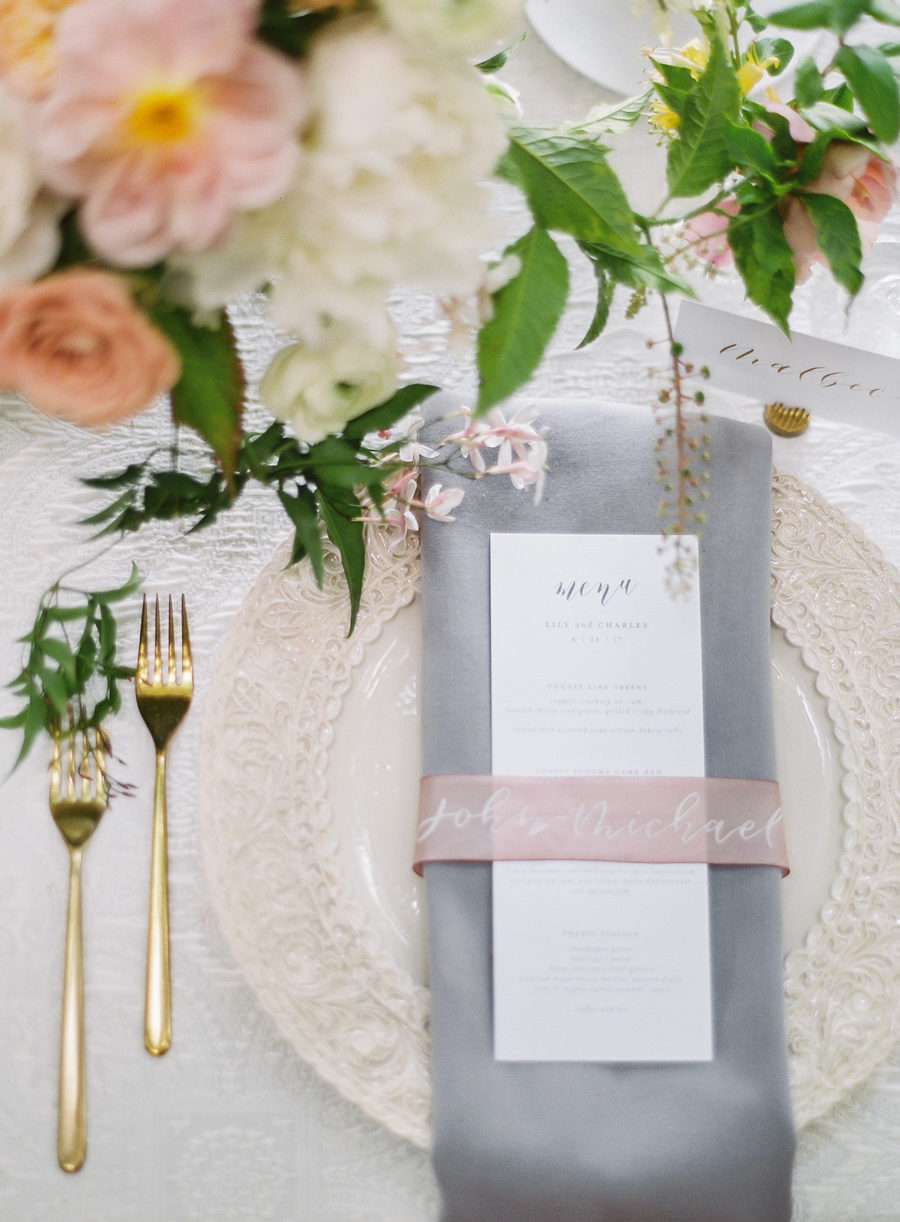 Romantic Beaulieu Garden Wedding in Napa