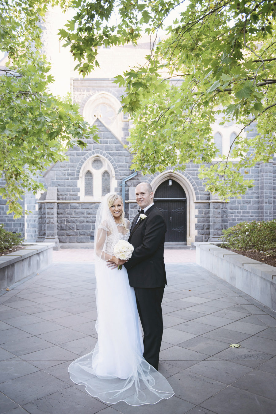 62bde8910159 Romantic Melbourne Wedding at Luminare