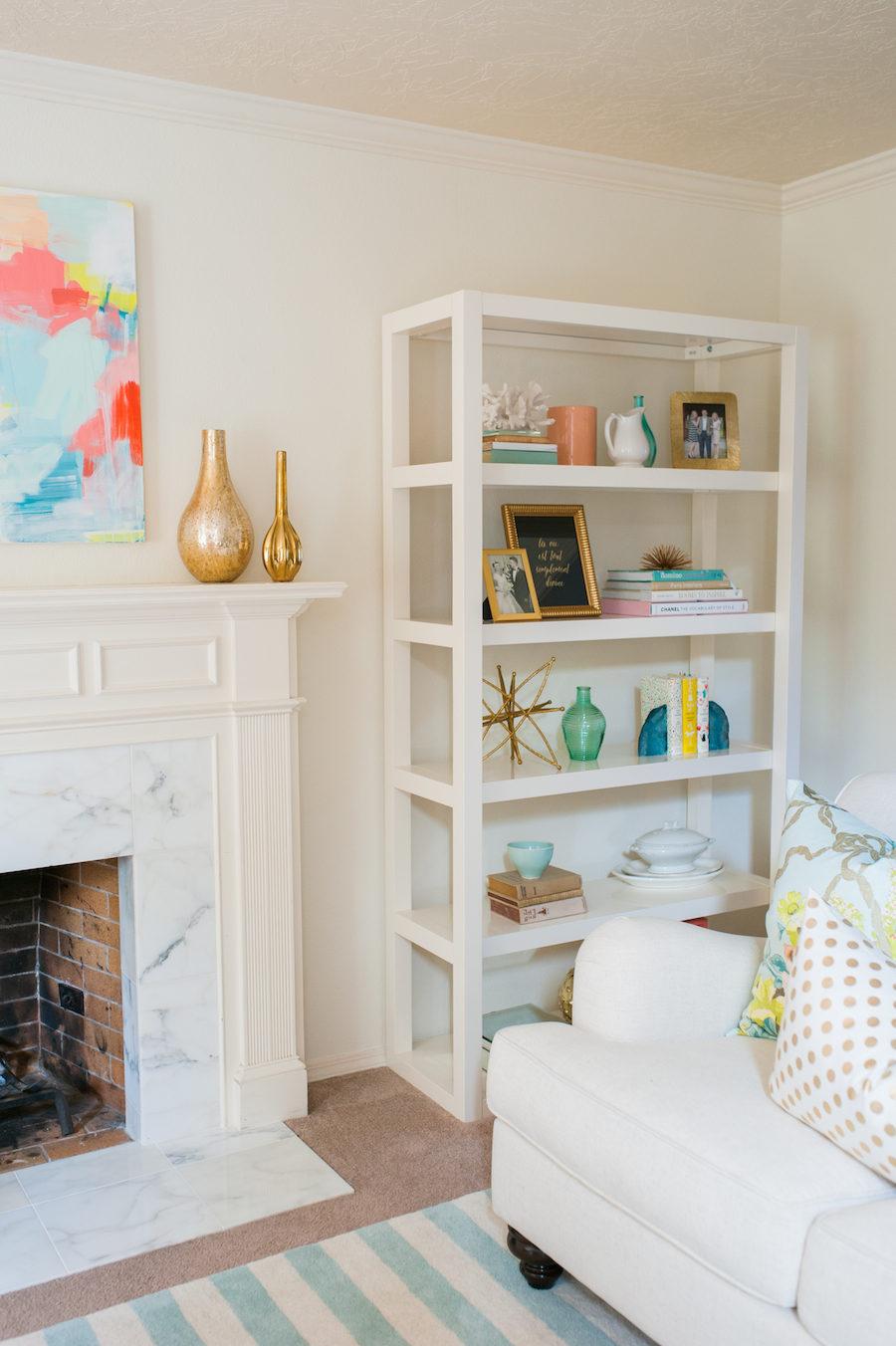 Whimsical Living Room Full of Color