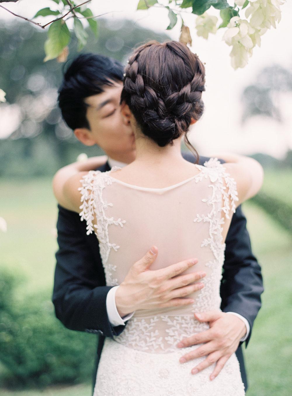 rustic garden singapore wedding