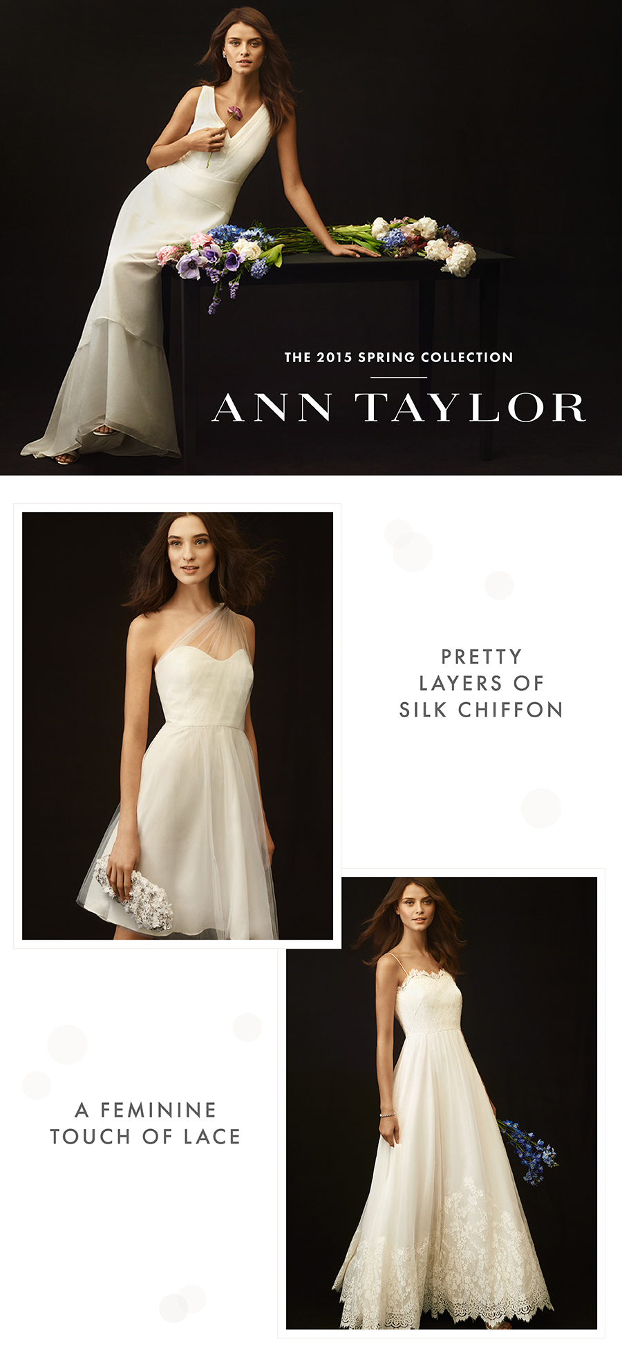 Ann taylor weddings spring collection junglespirit Image collections