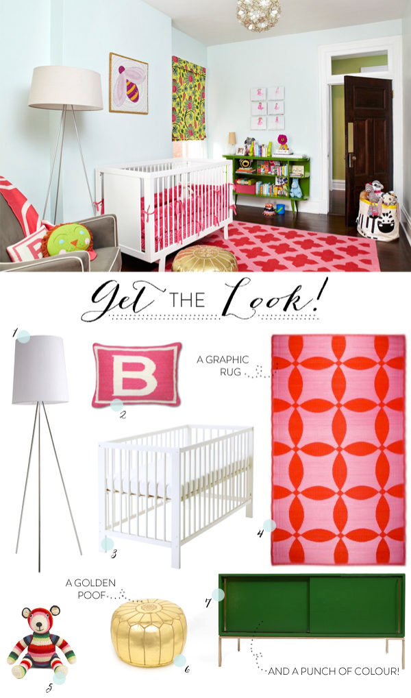 Adorable Kids Bedrooms from Amie Corley | Style Me Pretty