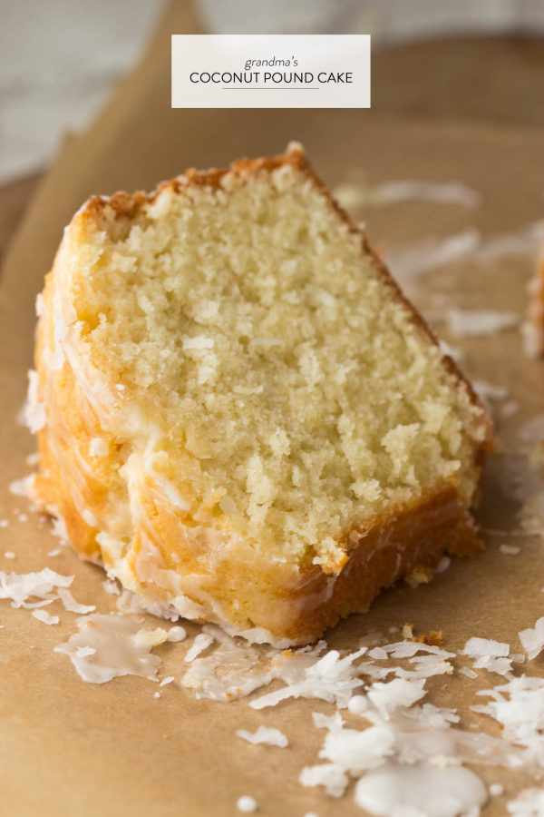 grandmother s recipe for coconut pound cake is an old family ...