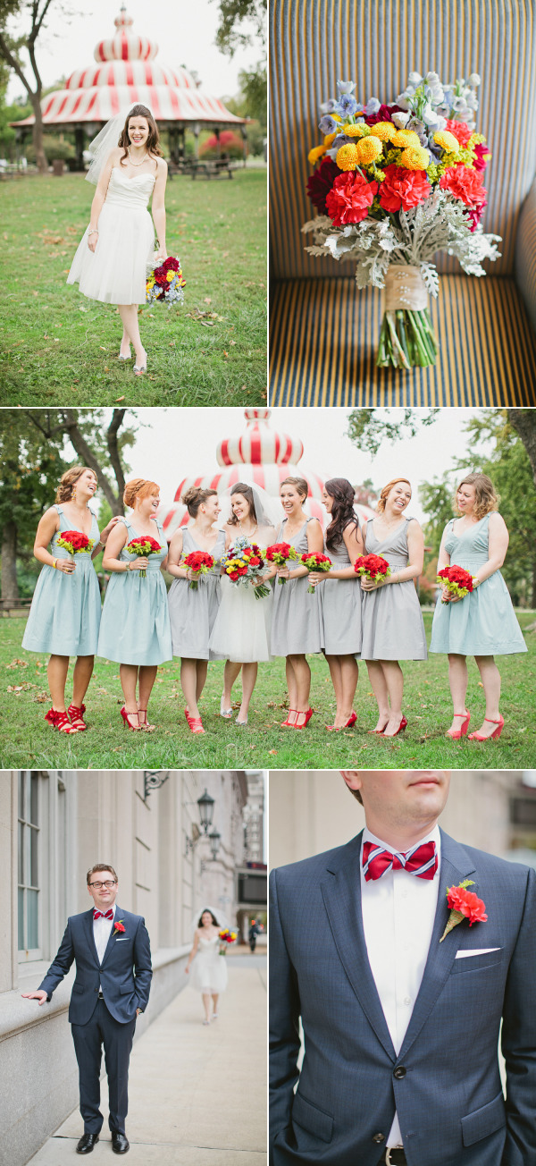 St. Louis Circus Wedding from Megan Thiele Studios