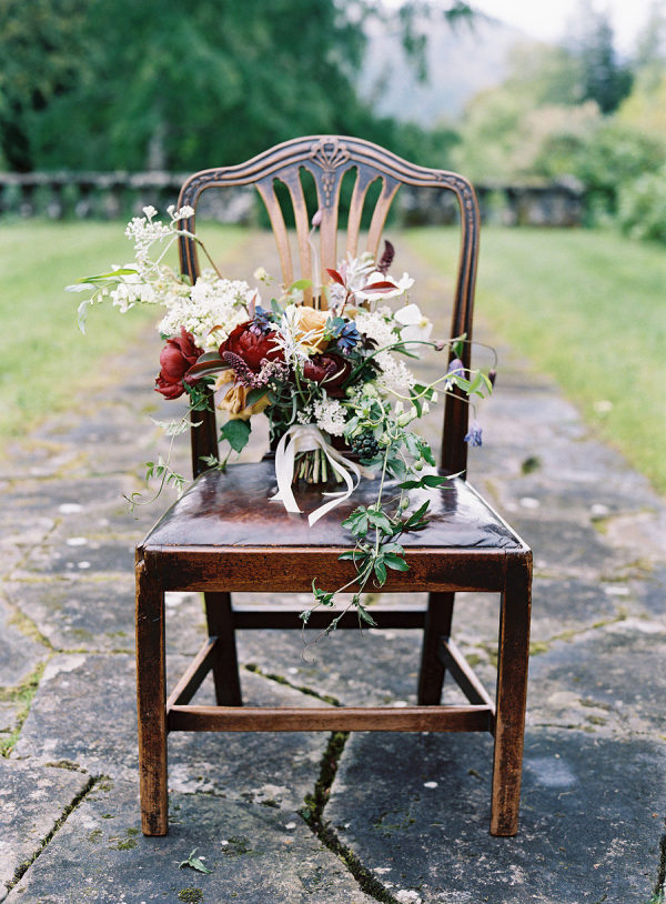 Scottish Manor Bridal Inspiration