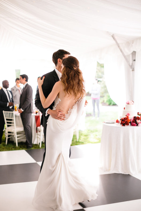 Cape Cod wedding blog photo from Style Me Pretty » Locations » Cape Cod about Modern Chic Cape Cod Wedding