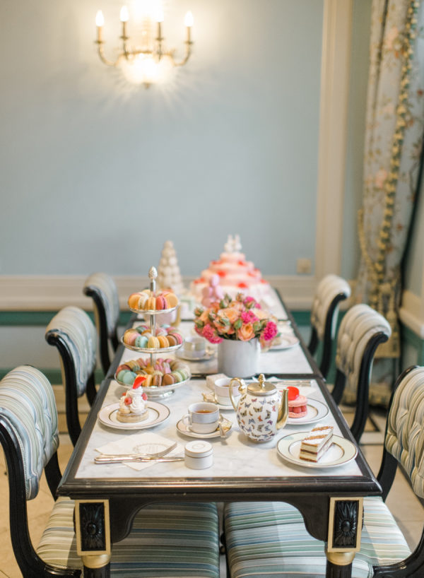 Parisian Tea Party Bridal Shower Inspiration