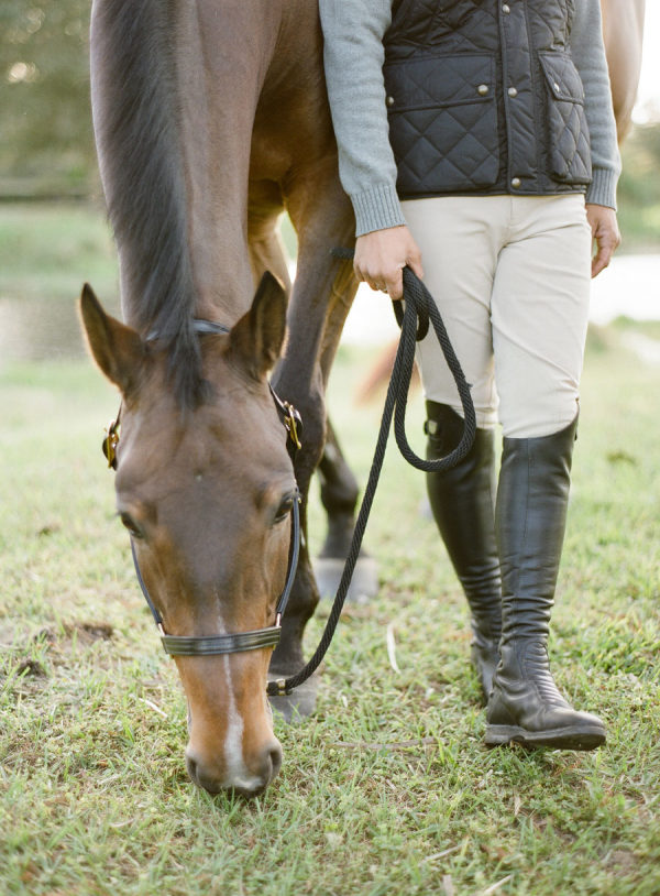 Horse Stable Engagement with an Equestrian Love Story