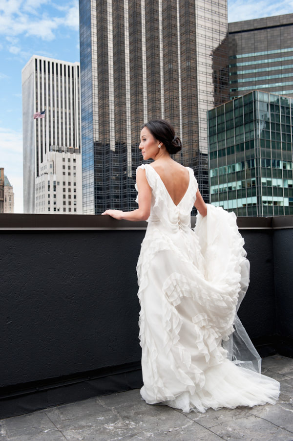 A Quintessential NYC Wedding With a Must-See Dress