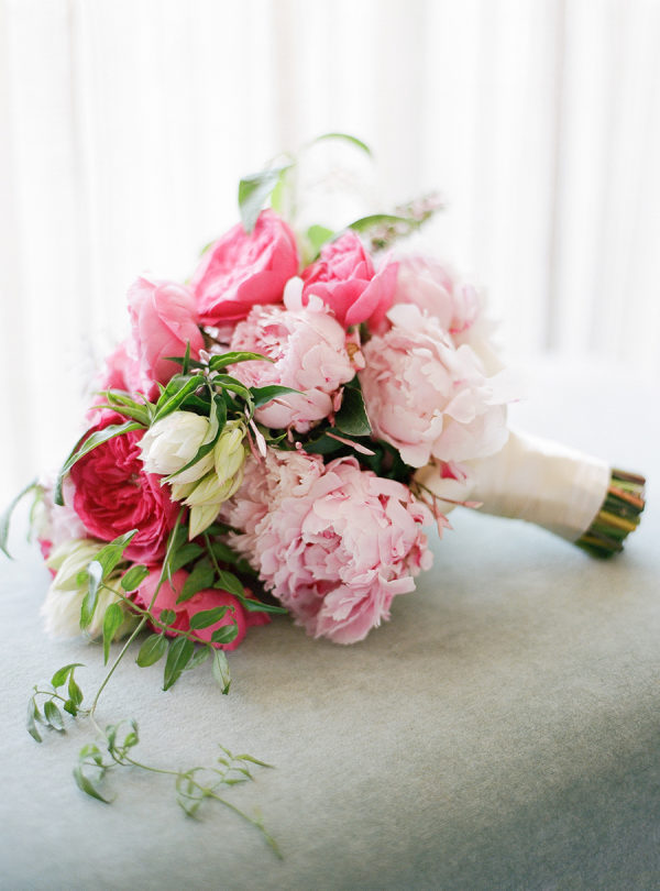 A Wedding That Proves Pink Peonies Are Always a Good Idea