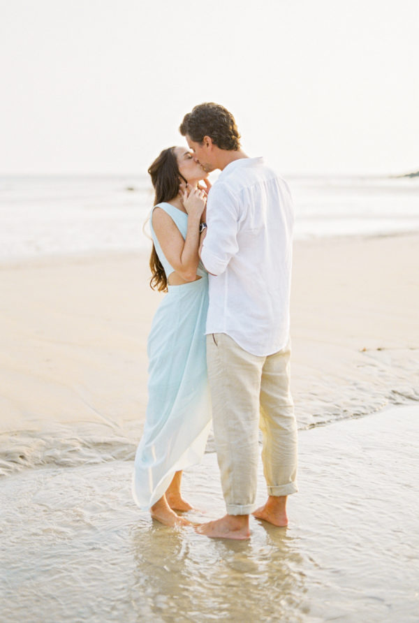 A Beach in Thailand Was Their Engagement Session Backdrop!
