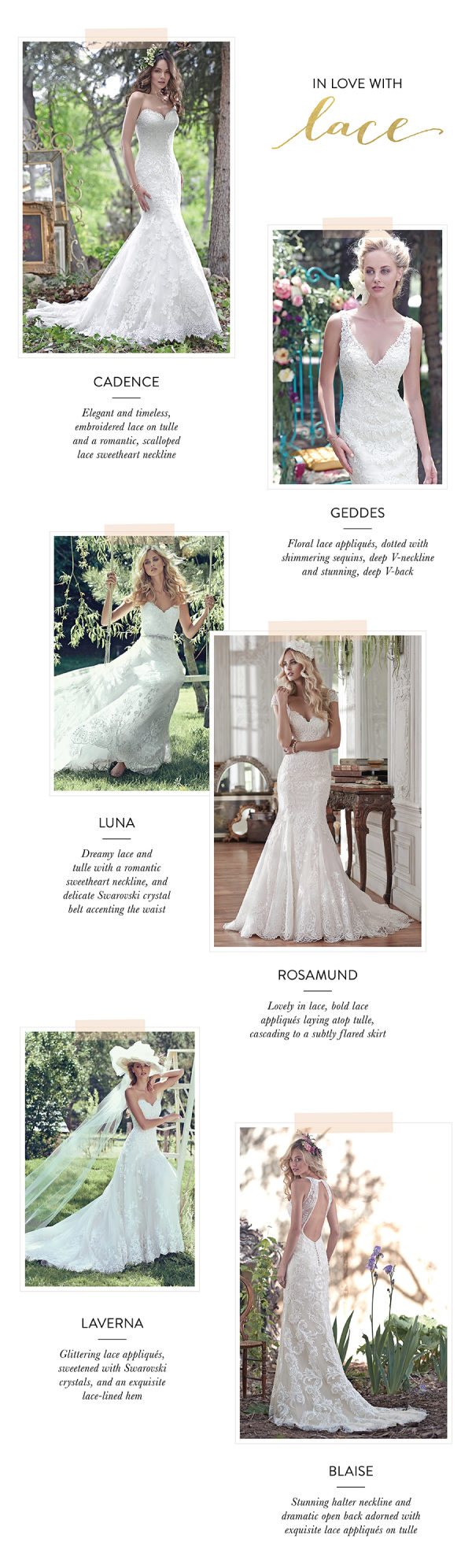 Fall In Love with Lace with Maggie Sottero