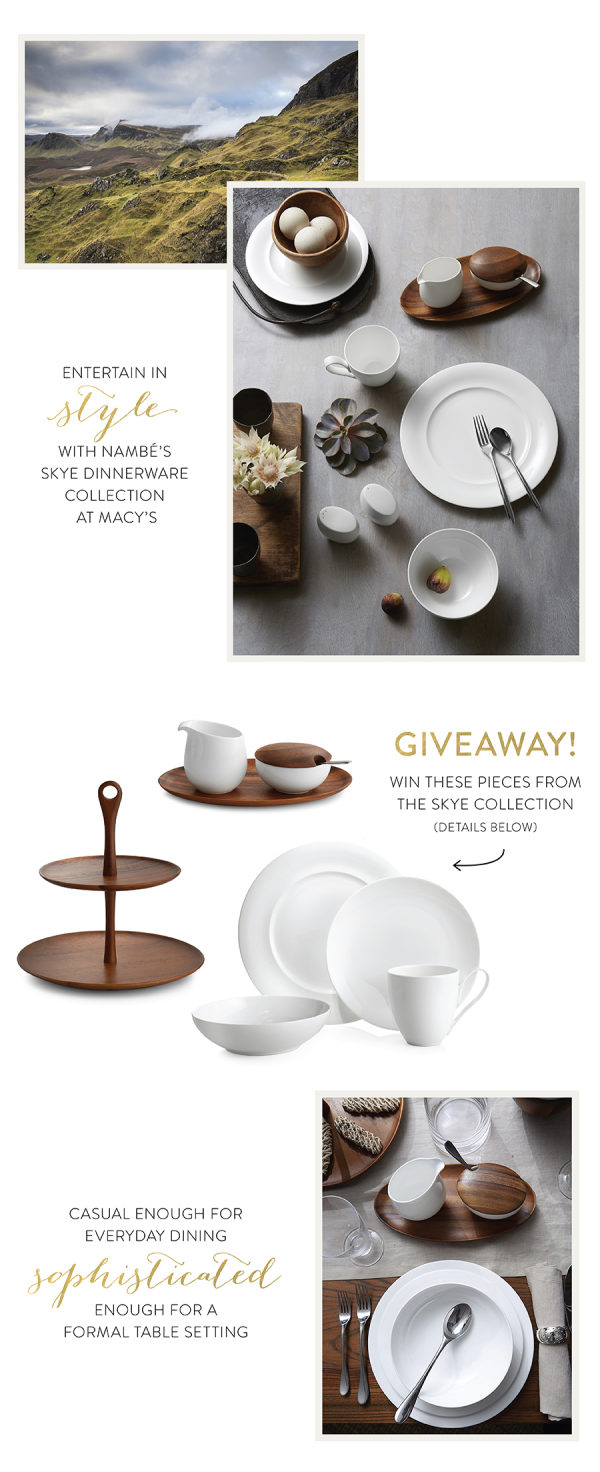 Nambe Skye Dinnerware Collection at Macy?s + A Giveaway!