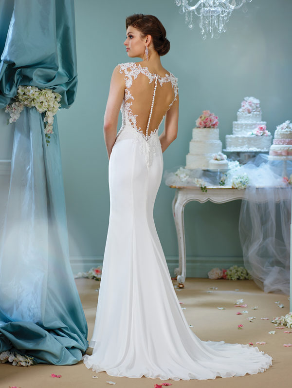 Beautiful Back Details from Mon Cheri Bridals