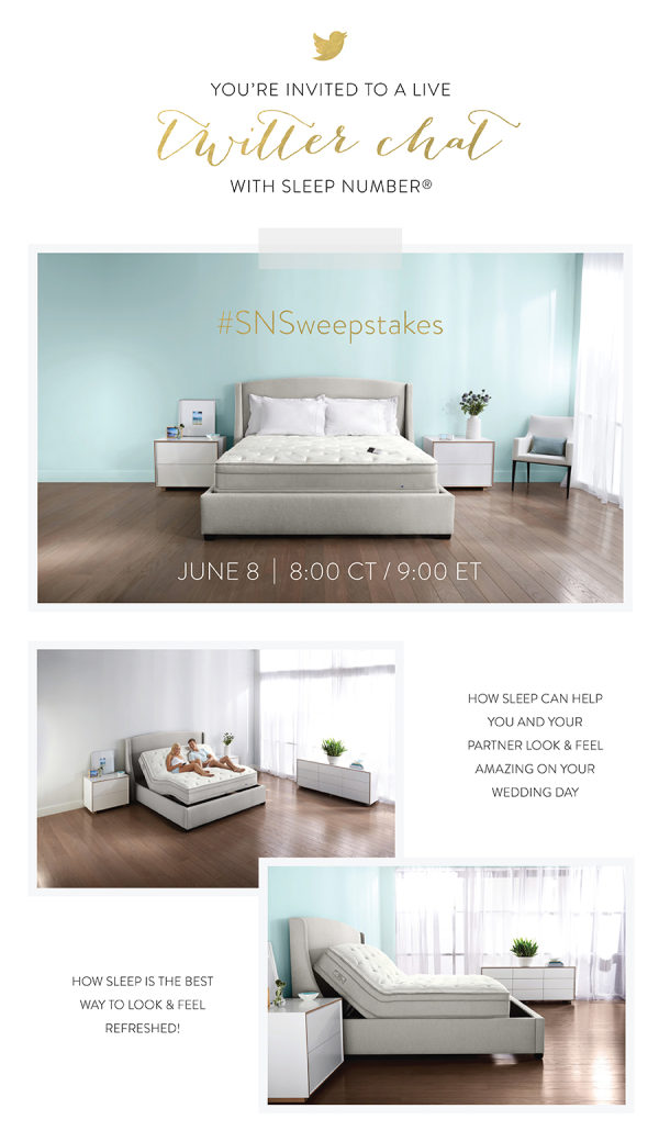 Win A Sleep Number Mattress + A Live Twitter Chat? TONIGHT!