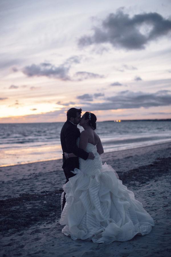 Cape Cod wedding blog photo from Style Me Pretty » Locations » Cape Cod about Elegant Greek Wedding at Wychmere Beach Club