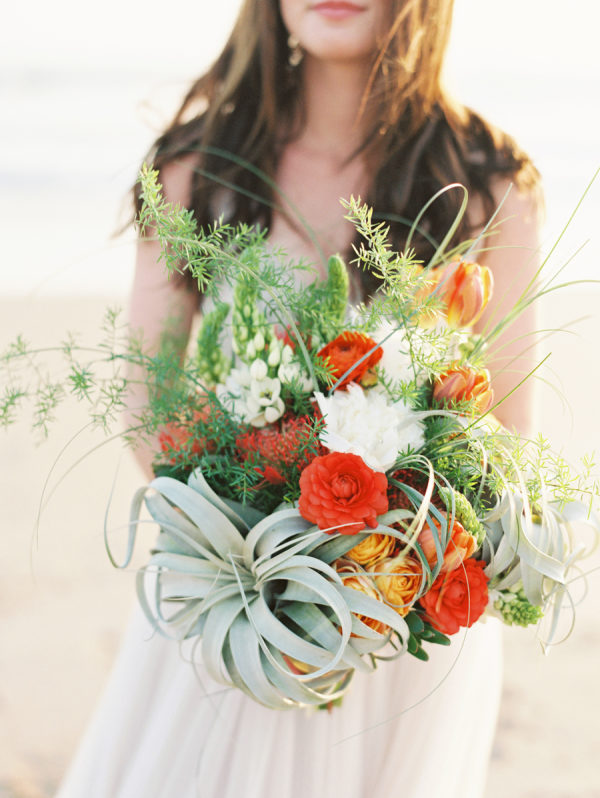 Modern Beach House Wedding Inspiration