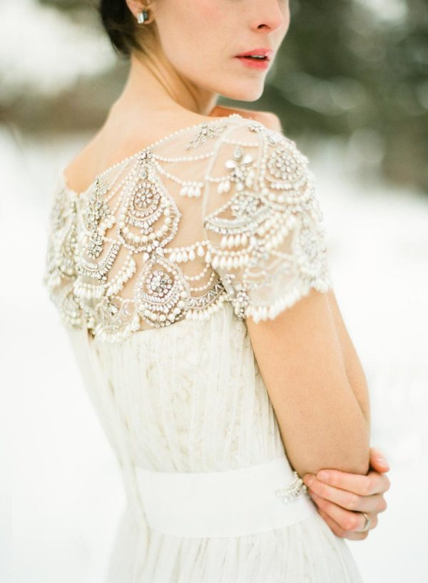 Snow-Filled Winter Wedding Inspiration