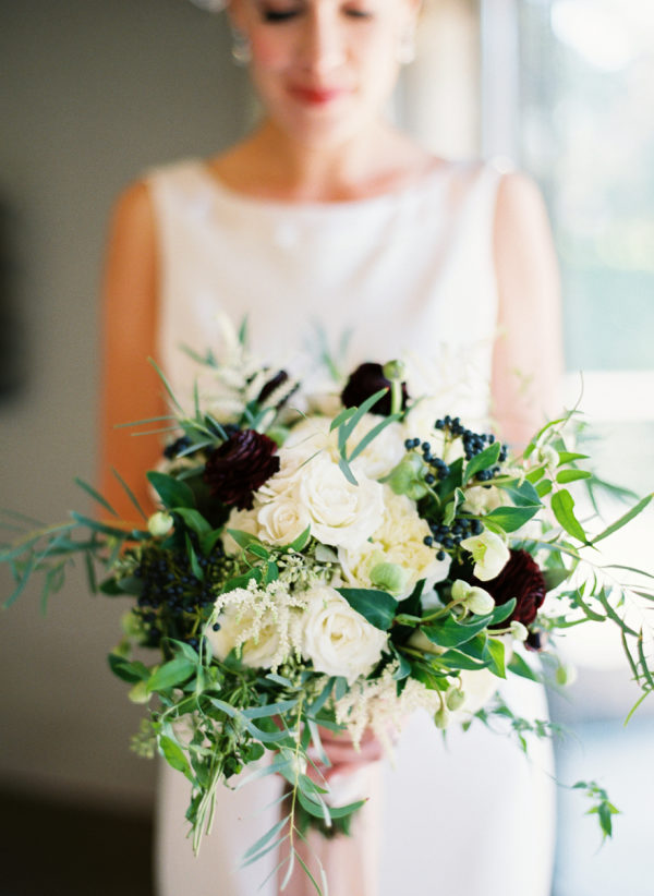 Elegant Fall Wedding in an Old Textile Factory