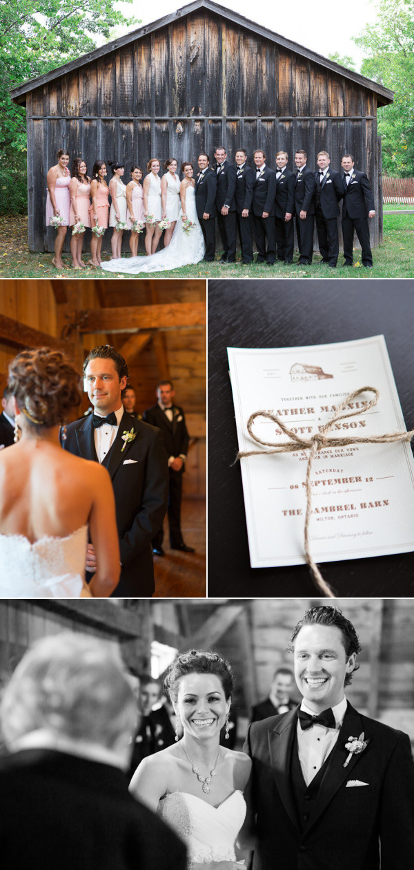 Milton Wedding At Country Heritage Park From Andrew Mark Photography Style Me Pretty