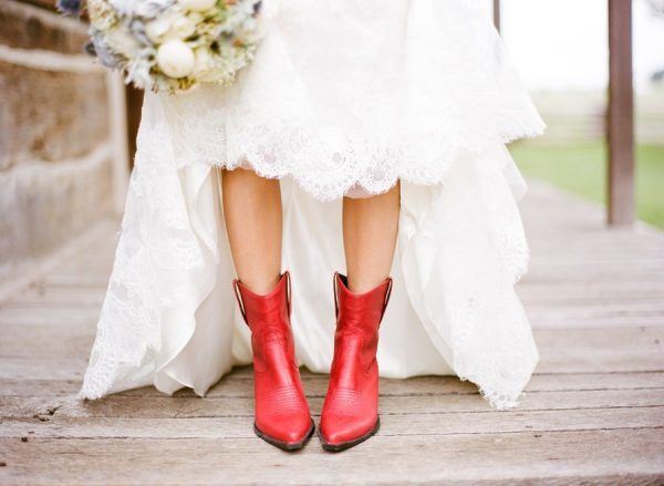 Fashion Friday: Brides in Boots