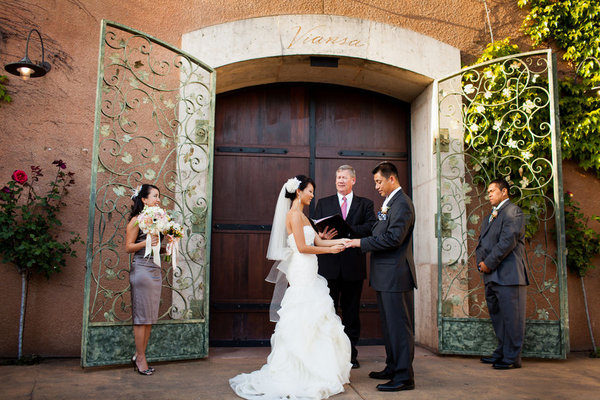 Viansa winery wedding