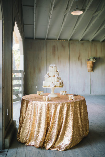 gold sequin linen tablecloth sequence