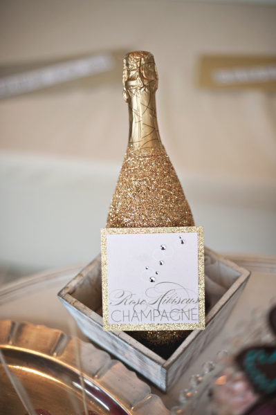 Style Me Pretty: Glitter Champagne