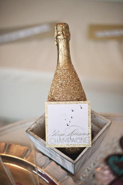 Style Me Pretty: Glitter Champagne