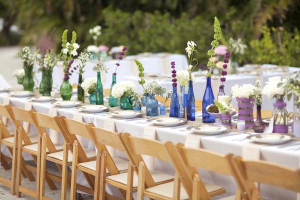 wedding rainbow decoration