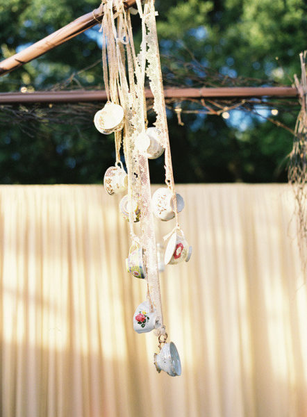 teacup windchime