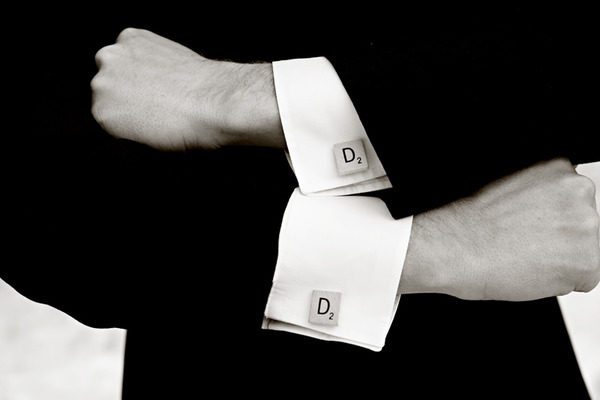Scrabble Cuff Links Wedding