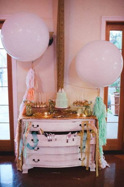 Glittery Cake Pop Display