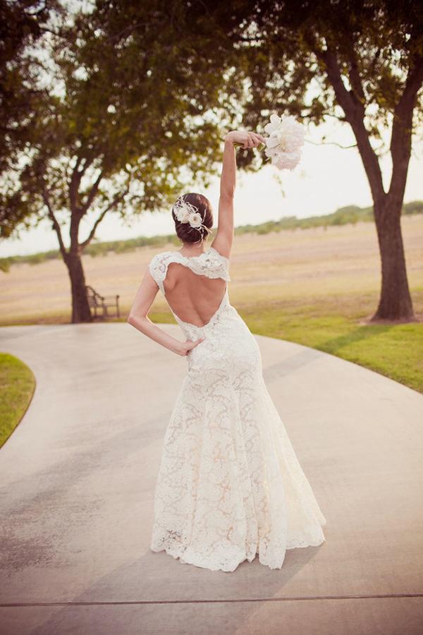 Фото со спины рыжих невест 13 фотография
